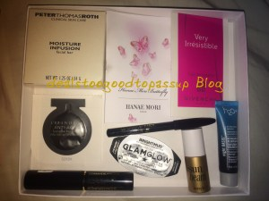 Giveaway Box Items 2