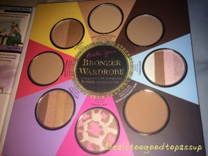 Too Faced Little Black Book of Bronzers 2