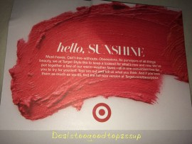 Target Beauty Box August 2015 4