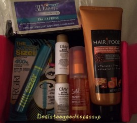Target Beauty Box August 2015
