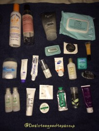 July 2015 Empties