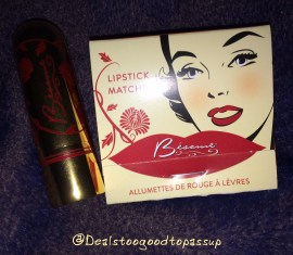 Besame Lipstick and Matchbook Set 2