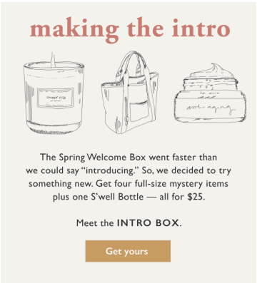 Causebox Customization Options 2020 Spring Intro