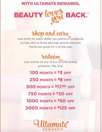 Earning And Redeeming Points At Ulta Under The UltaMate