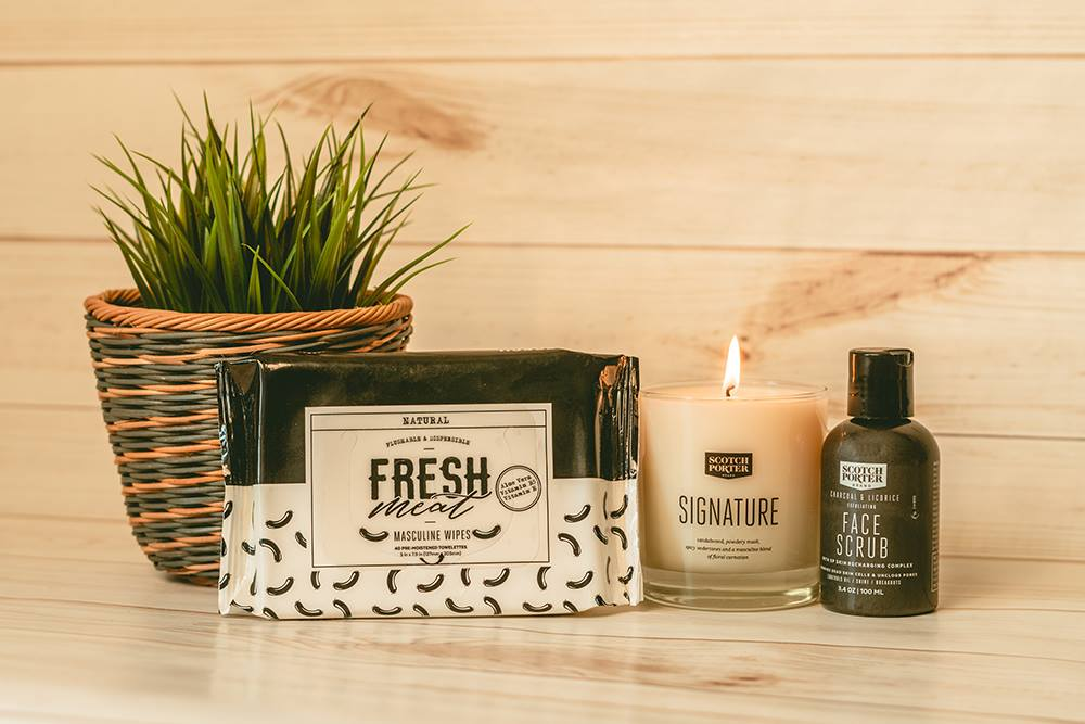 Scotch Porter Masculine Wipes Coupons