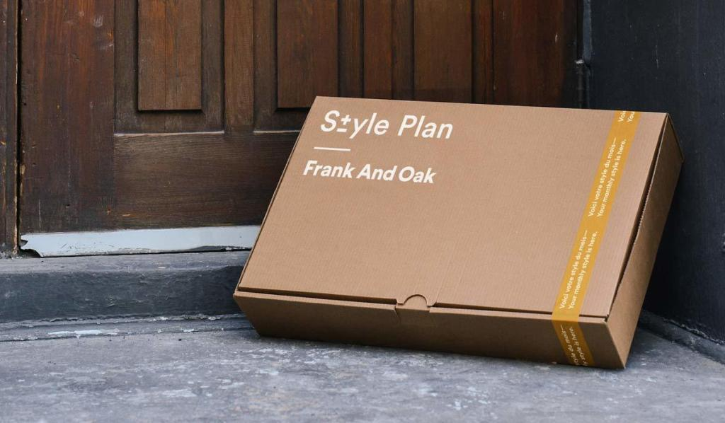 Frank And Oak $40 off Style Plan