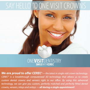 A custom dental crown in one appointment by Cerec Trainer Dr Donnie Dean