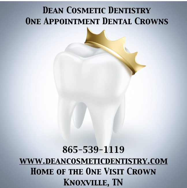 Dr. Donnie Dean Offers Beautiful Crowns in One Office Visit!