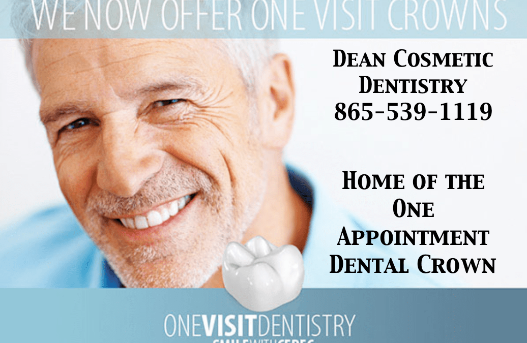 No one needs more than one appointment for a dental crown if you have the best technology