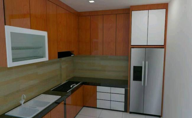 Jasa Tukang Pembuatan Kitchen Set Minimalis Modern Murah