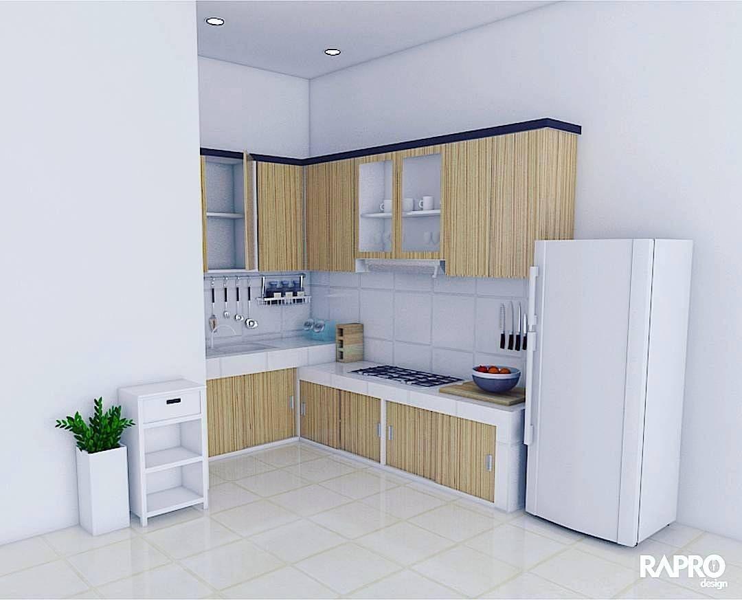 Jasa Tukang Buat Kitchen Set Minimalis Modern Jasa