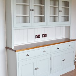 Kitchen Dresser Utility Table Dressers Hand Painted Neptune Deanery 8ft Cambridge Teak Top With Finish
