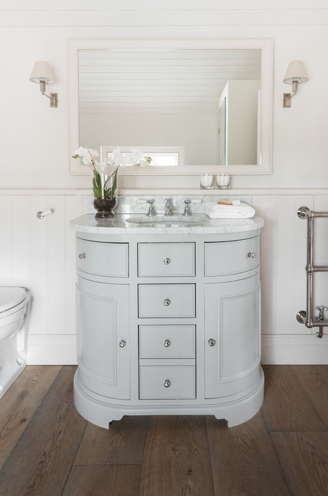 Neptune Chichester 960mm Curved Wash Stand Deanery Furniture
