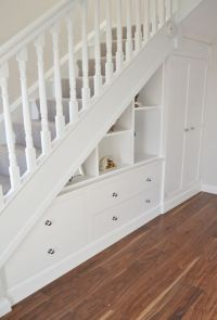 Fitted Furniture Under-Stair Storage - Deanery Furniture