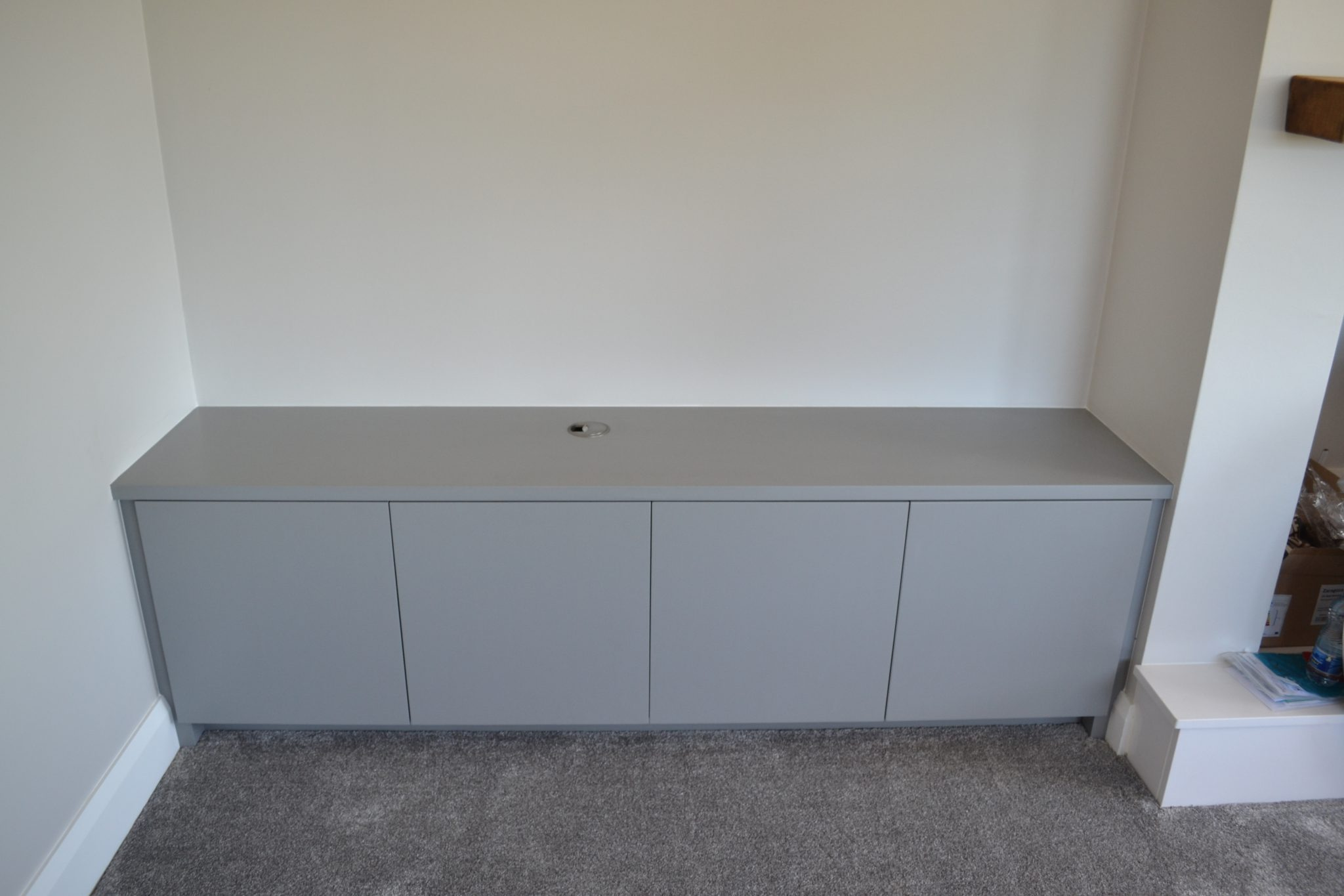 Deanery Contemporary Fitted TV Cabinet Deanery Furniture