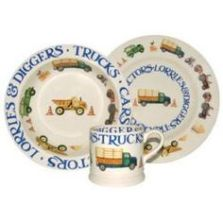 Emma Bridgewater Men at Work Coffee Mugs. Collectables and discontinued lines.