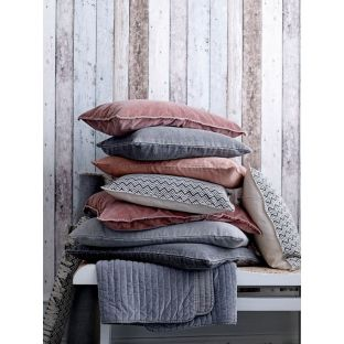 This seasons's contempoedrary cushions with velvet and wool finishes. Colou