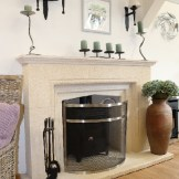 Bow-shaped-fire-guard-dean-forge-showroom