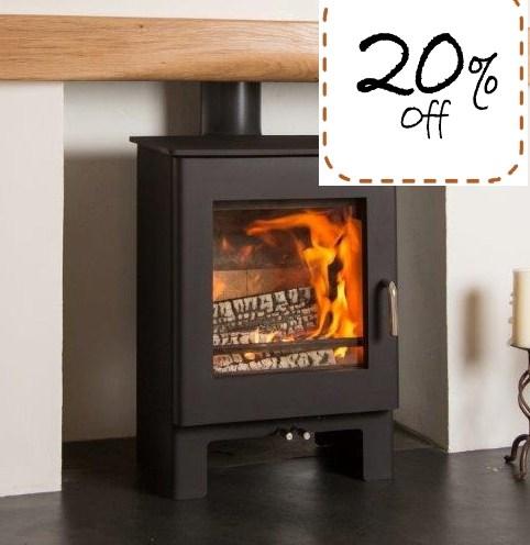 Sherford 5kw Wood burning stove