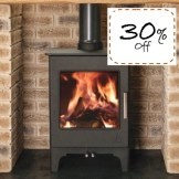 Woodbury 5 Eco Se Multi-fuel stove