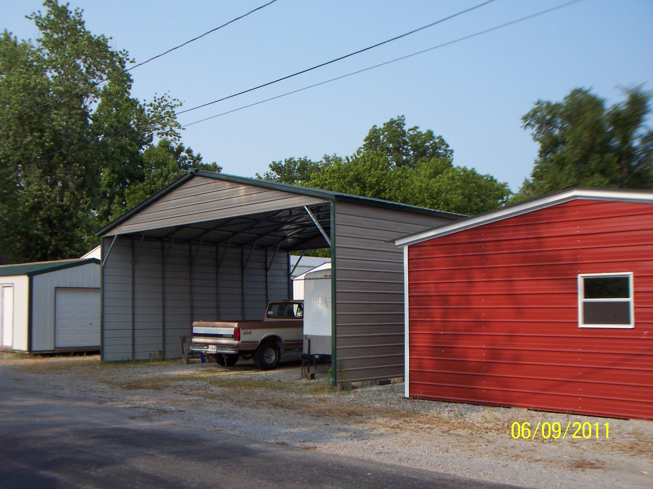 Carolina carports carports garages and storage for Carport garages