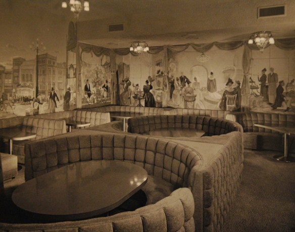 Rose Room, 1954 - photo by stockyardssteakhouse.com