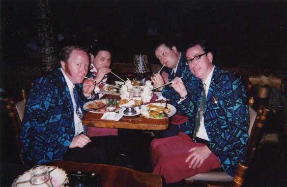 L to R: Bruce, me, Jeff, Brendan, 2002