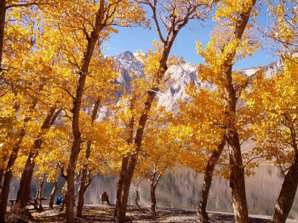 Convict Lake, Oct. 2012. Image by The Jab.