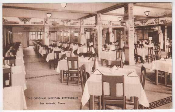 The Original Mexican Restaurant San Antonio Tx