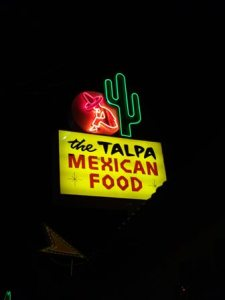 The Talpa restaurant, Los Angeles