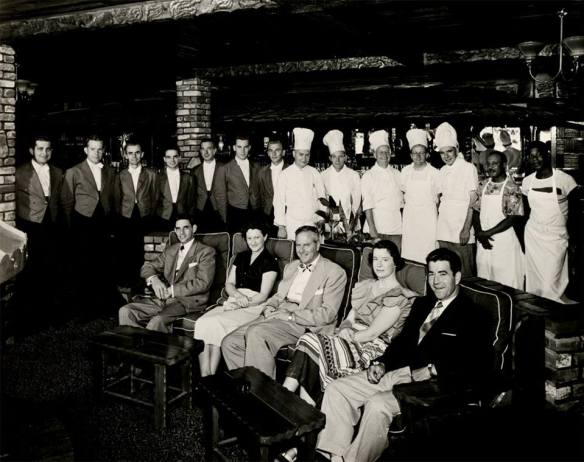 Clearman's Steak 'n Stein staff, 1946