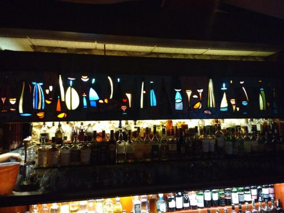 stained glass in bar - photo by Dean Curtis, 2016