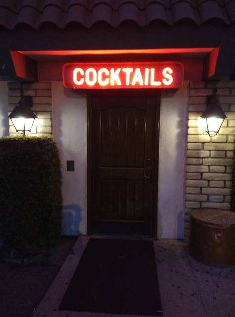 bar entrance - photo by Dean Curtis, 2016