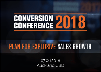 Conversion Conference 2018 – Plan for Explosive Sales Growth