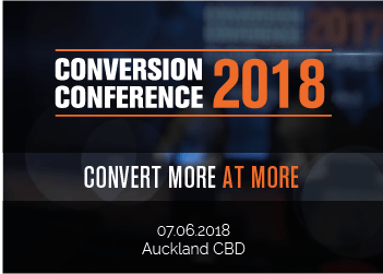 Conversion Conference 2018 – Convert More at More