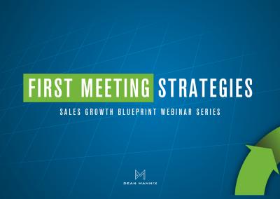 First Meeting Strategies