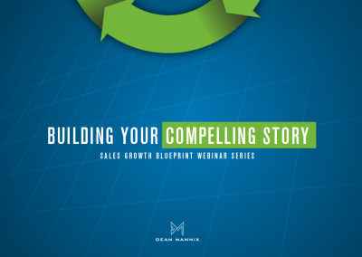 Building Your Compelling Story