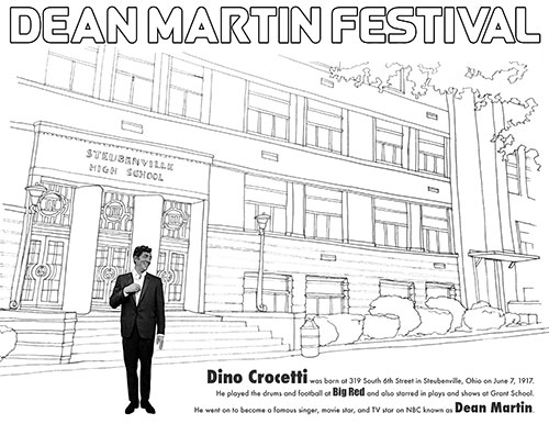 Welcome to the Dean Martin Festival, Steubenville, OH