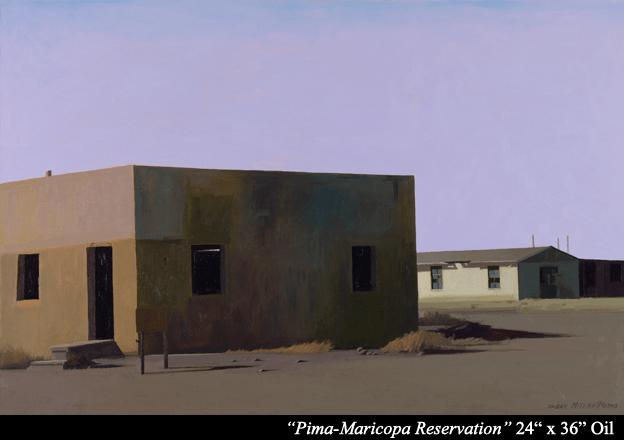 "Prima Maricopa Reservation  Oil 24"" x 36"""