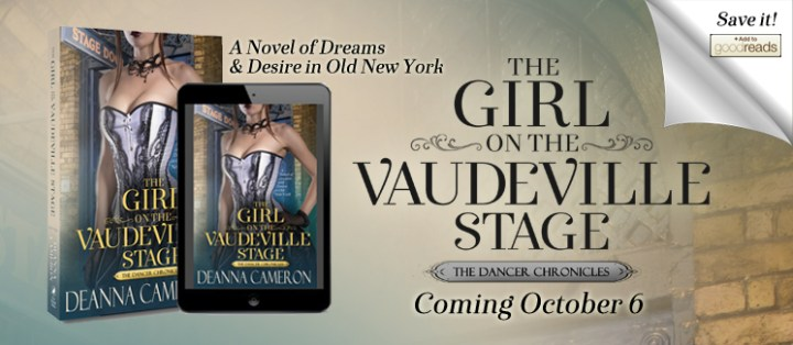 The Girl on the Vaudeville Stage by DeAnna Cameron