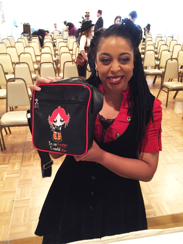 Ruby Gloom Purse