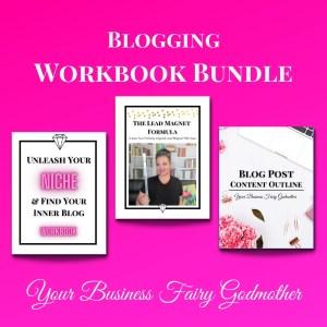 Blogger's Workbook Bundle