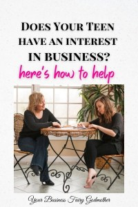 Does you teen have an interest in business
