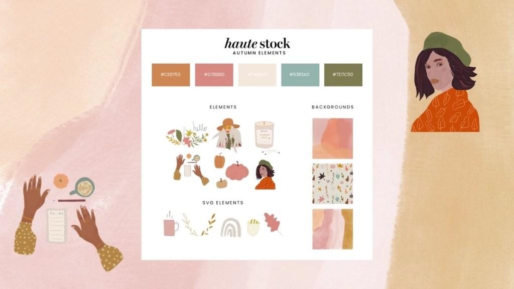 Haute Stock Graphics Pack
