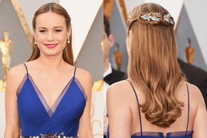 Brie Larson's Beautiful, yet Simple Disney-Princess Hair.