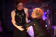 As Queen Elizabeth in RICHARD III @ The Secret Theatre, NYC. Photo by Emily Lambert; With Sandra Karas