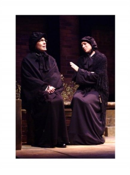 as Sister James in DOUBT at Riverside Theatre; With Diane Ciesla
