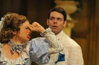 The Importance of Being Earnest photo by Rob Jones; Pictured with Avery Clark