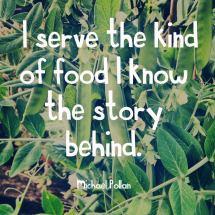 I Serve The Kind Of Food