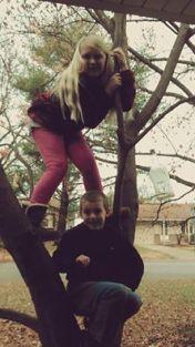 Libby & Brendan in Japanese Maple 2014